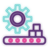 Neon Tools & Services Icon