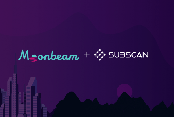 Moonbeam and Subscan Partnership Image