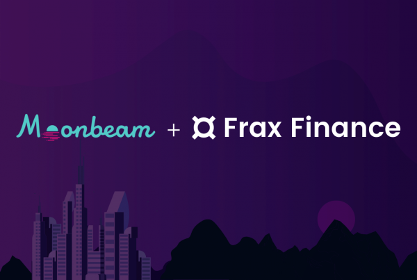 Frax Protocol integrates with Moonbeam